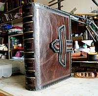 Обложка из кожи для книг, фото 1