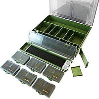 Коробка для карповой рыбалки Комплект (большая)