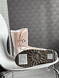 Натуральные женские угги кожаные UGG Australia Bailey Button Pink с пропиткой 36-40р. Живое фото. Люкс реплика, фото 9