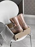 Натуральные женские угги кожаные UGG Australia Bailey Button Pink с пропиткой 36-40р. Живое фото. Люкс реплика, фото 5