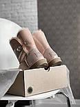 Натуральные женские угги кожаные UGG Australia Bailey Button Pink с пропиткой 36-40р. Живое фото. Люкс реплика, фото 4