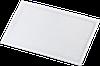 Бейдж горизонтальный с прищепкой и булавкой Buromax 90х55мм ВМ.5401