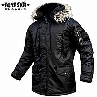 "Куртка зимняя ""ALYASKA LONG II"" BLACK"