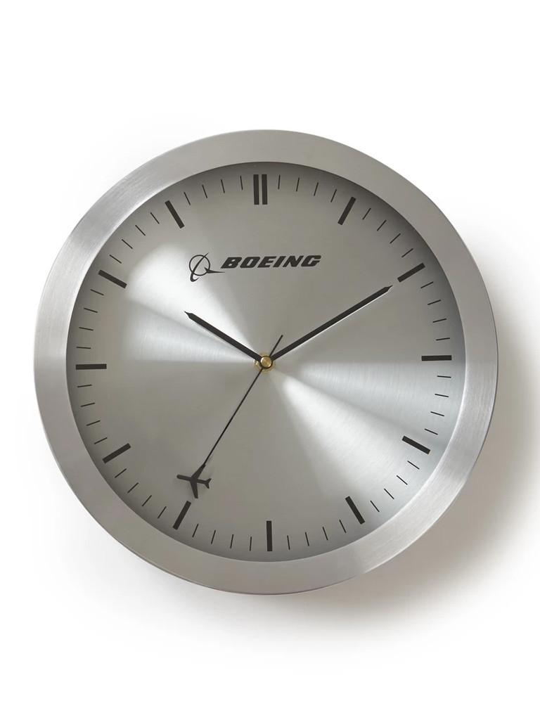 Часы настенные Boeing Rotating Plane Wall Clock