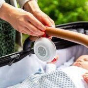 Портативный детский мобиль с белым шумом и колыбельными Zazu Suzy, фото 3