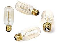 Лампа Эдисона, ретро лампа, винтажная лампа капсула, спиральная нить, модель T45, фото 1