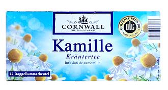 Чай пакетированный Cornwall Kamille 25 пакетов