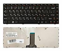 Клавиатура для ноутбука Lenovo IdeaPad Z380 Z385 B470 B475 G470 G475 V470 Z470 B480 B485 G480 G485 Z480 Z485 B490 M490 M495 черная (25-011680)