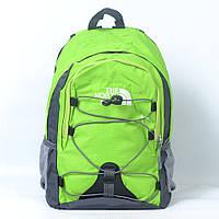 Яркий качественный спортивный рюкзак фирмы The North face Код - 8007 (салатовый) 20л