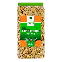 Чечевица зеленая, ТМ Natural Green, 400 г