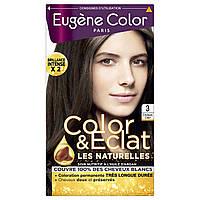 ЭЖЕН КОЛОР  Eugene Color Стойкая Крем-краска для волос №3 Светлый Шатен, Светлый Шатен ЭК 3, 115 мл, фото 1