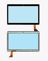 Cенсор (Тачскрин) для планшета GoClever Cuantum 960 (222*157 мм) 50 pin (Черный) Оригинал Китай