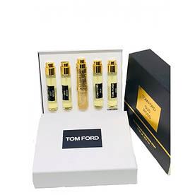 Подарунковий набір міні парфумів Tom Ford Oud Wood жіночий 5*11 мл