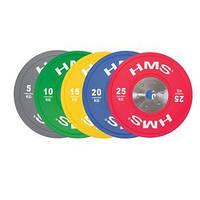 Набор блинов олимпийских TBR PROFI SET HMS, фото 1