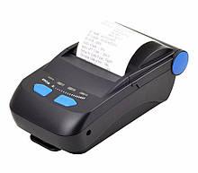 Термопринтер, POS, мобільний принтер чековий Xprinter XP-P300 чернный, bluetooth (XP-P300)