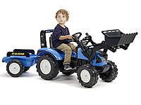Трактор педальный с ковшом Landini Falk 3010AM, фото 1
