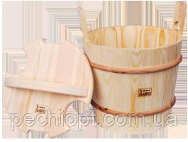 Запарник для сауны с крышкой sawo 381-P 16 литров