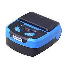 Термопринтер, POS, чековий принтер vобильный Xprinter XP-P810 чорний, bluetooth (XP-P810)
