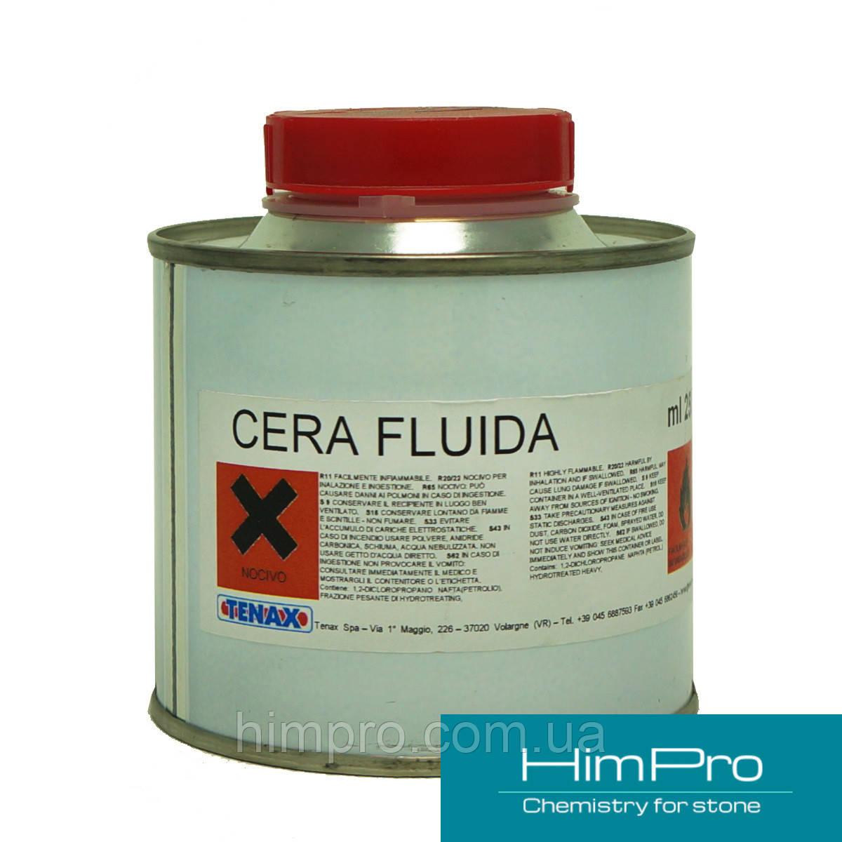 Cera Fluido 0.25L Tenax Жидкий бесцветный воск