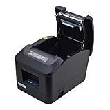 Термопринтер, POS, чековий принтер Xprinter XP-A160H чорний (XP-A160H), фото 6