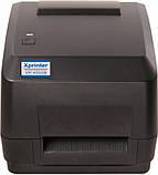 Принтер етикеток, термотрансферний принтер Xprinter XP-H500B чорний (XP-H500B), фото 3