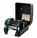 Принтер етикеток, термотрансферний принтер Xprinter XP-H500B чорний (XP-H500B), фото 4