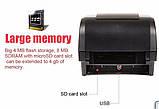 Принтер етикеток, термотрансферний принтер Xprinter XP-H500B чорний (XP-H500B), фото 7