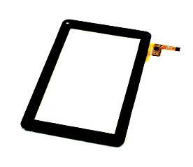 Сенсор (Тачскрин) к планшету GoClever Tab 9300   Tab A93.2 (233*141 mm) 12 pin (Черный) Оригинал Китай
