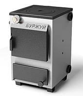 Буржуй КП 12 кВт с чугунной плитой (сталь 3 мм)