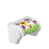 Держатель для бумаги туалетной Ромашки Elif Plastik 386-14LF