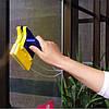 Магнитная щетка для мытья окон с двух сторон одновременно Glass Wiper - Фото