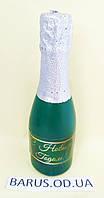 Свечи декоративные Шампанское малая Новый год 2020  14*4 см