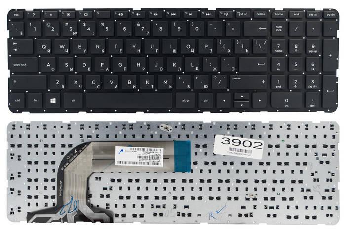 Клавиатура для ноутбука HP Pavilion 17 17-N 17-E черная без рамки Прямой Enter, фото 2