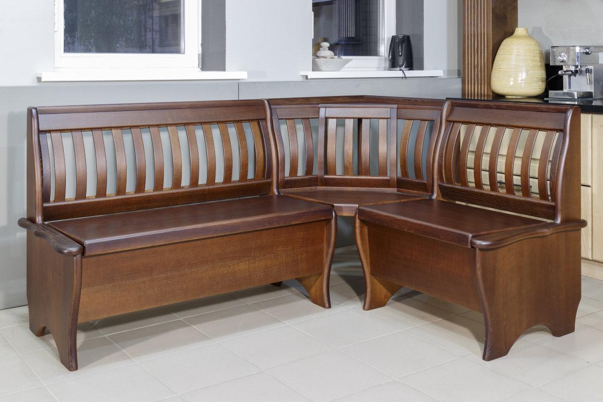 Кухонный, деревянный уголок -Вероника (возможен по индивидуальным размерам)