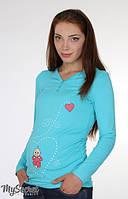 Лонгслив для беременных Liv heart, фото 1