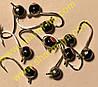 Блешня вольфрамова Bravo 2840-1-SIL 4,0 мм 0,65 гр. Куля з вушком фарбований