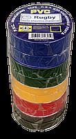 Ізострічка ПВХ 20 м кольорова, фото 1