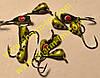 Мормышка вольфрамовая Bravo 1130-56 3.0 мм 0.42 гр. Капля с ушком крашенная
