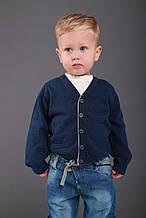 Дитячий кардиган для хлопчика Melby Італія 71531419 синій