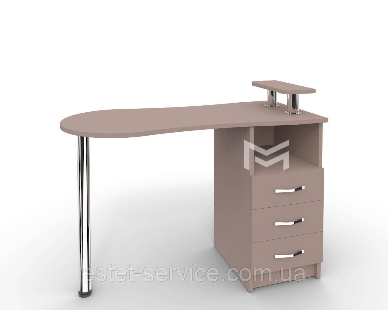 Профессиональные столы для маникюра Естет №2 ПОЛНОСТЬЮ В ЦВЕТЕ М102