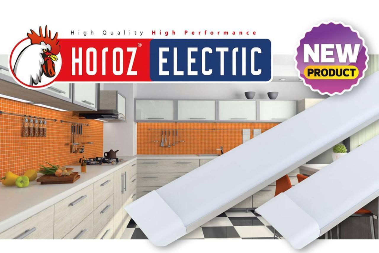 Линейный светильник светодиодный 54W 6400K Tetra/SQ-54 Horoz Electric