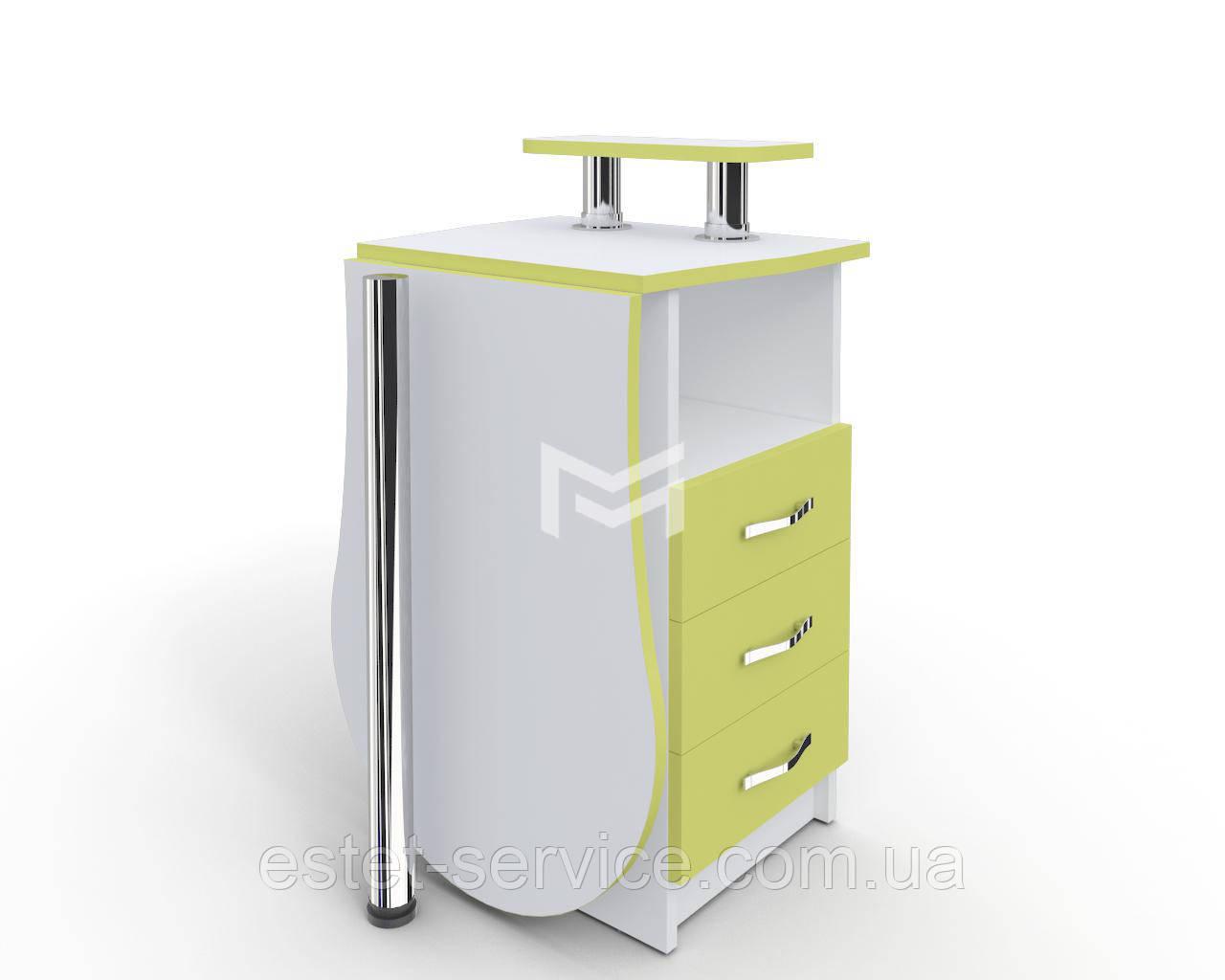 Маникюрный стол складной-раскладной Естет компакт №2 с ФАСАДАМИ В ЦВЕТЕ М102K
