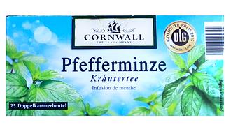 Чай пакетированный Cornwall Pfefferminze 25 п