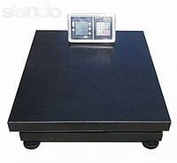 Электронные платформенные весы OXI до 600 кг усиленные 800*600мм