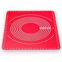 Коврик силиконовый для выпечки раскаточный 64*45*0.01см HH-667
