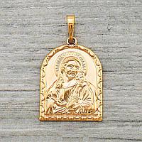 Иконка Xuping Иисус Христос длина 3.5см позолота 18К л328