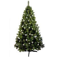 Новогодняя Искусственная Елка «Снежанна» - 1,6 м.   160 см. из Пленки ПВХ
