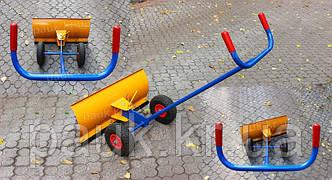 Оновлення моделі ручного снігоочисника на колесах