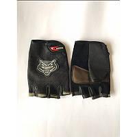 Перчатки велосипедные KNIGHTHOOD без пальцев (размер L, XL)