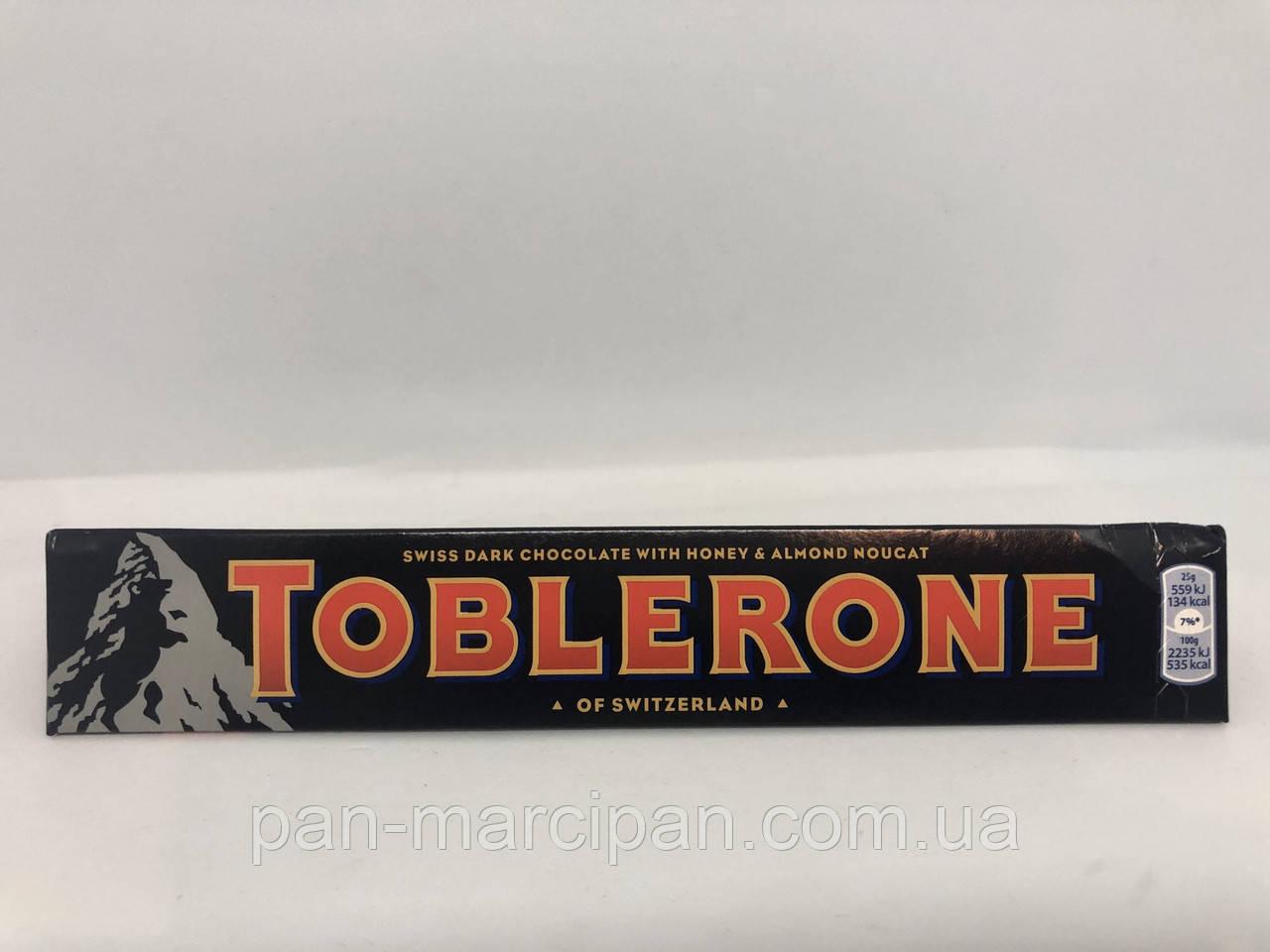 Шоколад Toblerone чорний 100 г Швейцарія